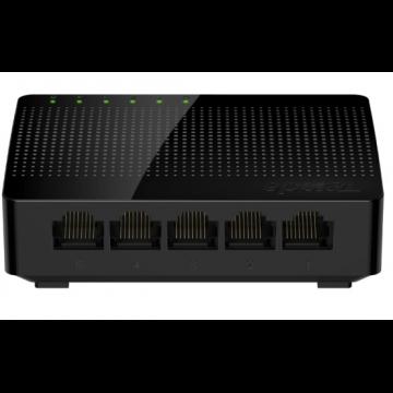 腾达(Tenda)SG105 5口千兆交换机 4口家用宿舍交换器 监控网络网线分线器
