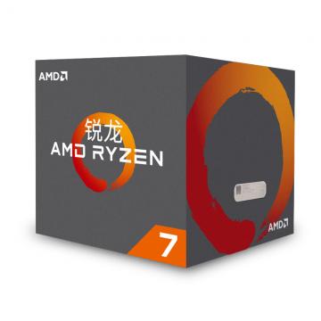 锐龙 AMD Ryzen 7 1700 处理器8核AM4接口 3.0GHz 盒装
